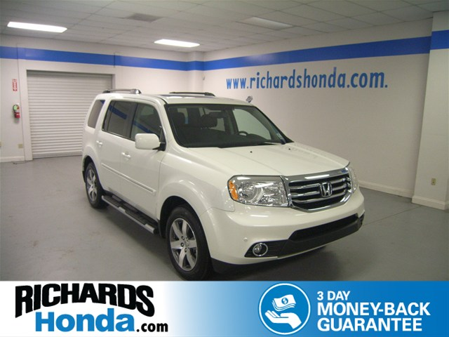certified pre owned 2014 honda pilot touring suv in baton rouge 2p7537 richards honda. Black Bedroom Furniture Sets. Home Design Ideas